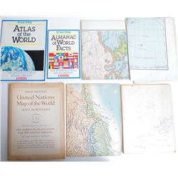 Rand Mcnally United Nations Map of World and Portfolio