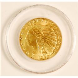 COPY 1929 $5 Indian Head Gold Coin 24K Plated