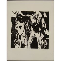 """Molly J. Schiff Signed Art Print Proof """"Forest View I"""""""