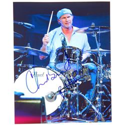 """Chad Smith Signed Red Hot Chili Peppers 8"""" x 10"""" Photo"""