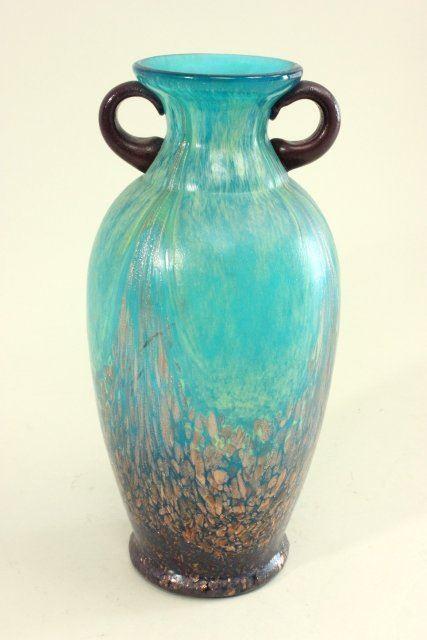 Contemporary Dale Tiffany Amphora Style Vase