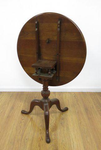 Strange Queen Anne Cherry Wood Round Tilt Top Table Alphanode Cool Chair Designs And Ideas Alphanodeonline