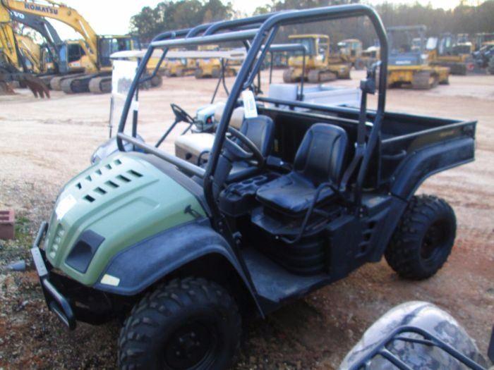 2011 CUB CADET VOLUNTEER 4X4 ATV, S/N 1D131Z50004, DUMP BED, ROLL BAR,  METER READING 382 HOURS