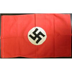 NAZI PARTY FLAG-ORIGINAL BRINGBACK-DOUBLE SIDED-13X22""