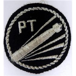 "WWII ""PT"" BOAT BOMBER PATCH"