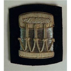 MUSICIANS BULLION MILITARY PATCH--2X2""