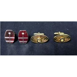 2 Pairs of Old Cufflinks