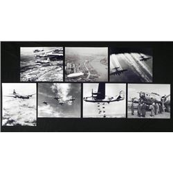 7 Aircraft Photos - Bombers, Blimp, Beoings, Skyraider