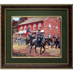 Mort Kunstler Civil War Framed Print Gen. Lee Cashtown