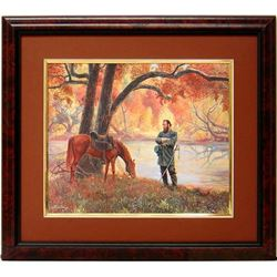 Mort Kunstler Civil War Framed Print Stonewall Jackson