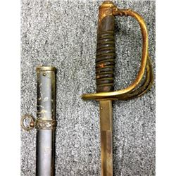 MODEL 1872 U.S. CAVALRY OFFICERS SABER & SCABBARD