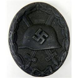 NAZI BLACK WOUND BADGE-MINT-ORIGINAL-MKR:ESP