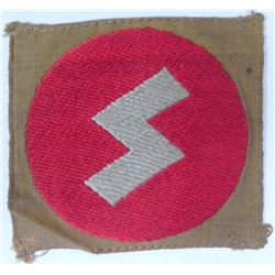 NAZI DJ/HJ GERMAN YOUTH UNIFORM PATCH-ORIGINAL