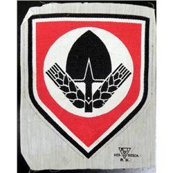 ORIGINAL NAZI RAD LARGE INSIGNIA FOR SPORT EVENTS SHIRT