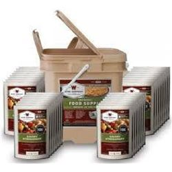 _NEW!_ Wise Foods 01120 Grab and Go Bucket Entree Only 120 Servings 094922068545
