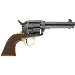 "*NEW* Taylors 555134 1873 Ranch Hand 357 Magnum 4.75"" 6 Checkered Walnut Blued # 92503"