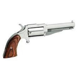 """_NEW!_ NAA 18603 1860 The Earl 22 Mag 3"""" 5 Wood Grip Stainless Finish 744253001963"""