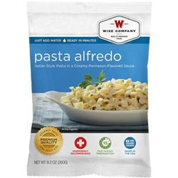 _NEW!_ Wise Foods 2W02206 Outdoor Food Packs 6 Ct/4 Servings Pasta Alfredo 851238005066
