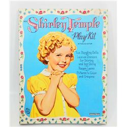 1958 SHIRLEY TEMPLE  PLAY KIT - PAPER DOLLS