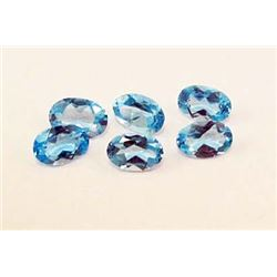 LOT OF 3.36 CTS OF SWISS BLUE TOPAZ