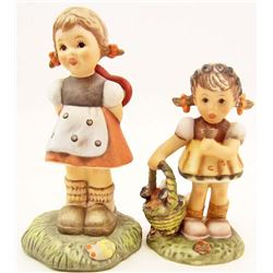 LOT OF 2 VINTAGE HUMMEL FIGURINES