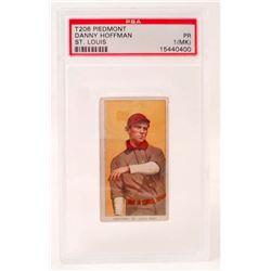 1909-11 T206 PIEDMONT DANNY HOFFMAN BASEBALL CARD - PSA PR1