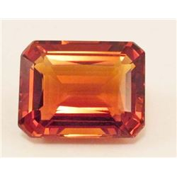 29.58 CT GOLDEN ORANGE BRAZILIAN CITRINE