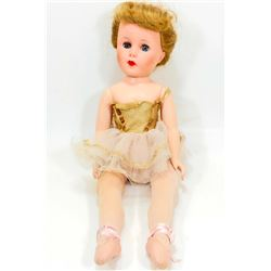 "C. 1950'S BALLERINA DOLL - APPROX. 18"" TALL"