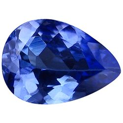 0.80 CT BLUISH PURPLE D-BLOCK TANZANITE