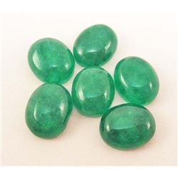 LOT OF 15.62 CTS OF GREEN BOTSWANA JADE
