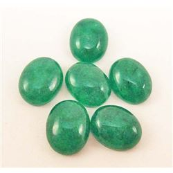 LOT OF 14.49 CTS OF GREEN BOTSWANA JADE