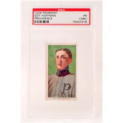 1909-11 T206 PIEDMONT IZZY HOFFMAN BASEBALL CARD - PSA PR1