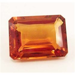 21.98 CT GOLDEN ORANGE BRAZILIAN CITRINE