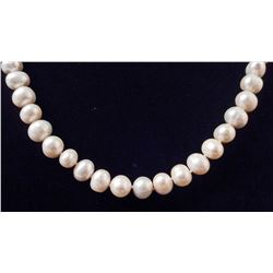 43.30 GRAMS FRESH WATER PEARL NECKLACE W/ APPRAISAL