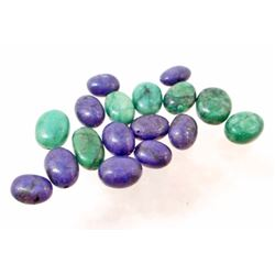 LOT OF 100.3 CTS OF SAPPHIRES & EMERALDS