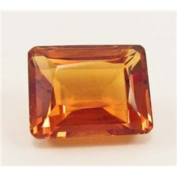 36.36 CT GOLDEN ORANGE BRAZILIAN CITRINE