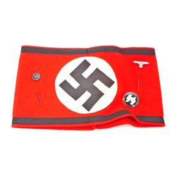 GERMAN WAFFEN SS OFFICERS ARM BAND