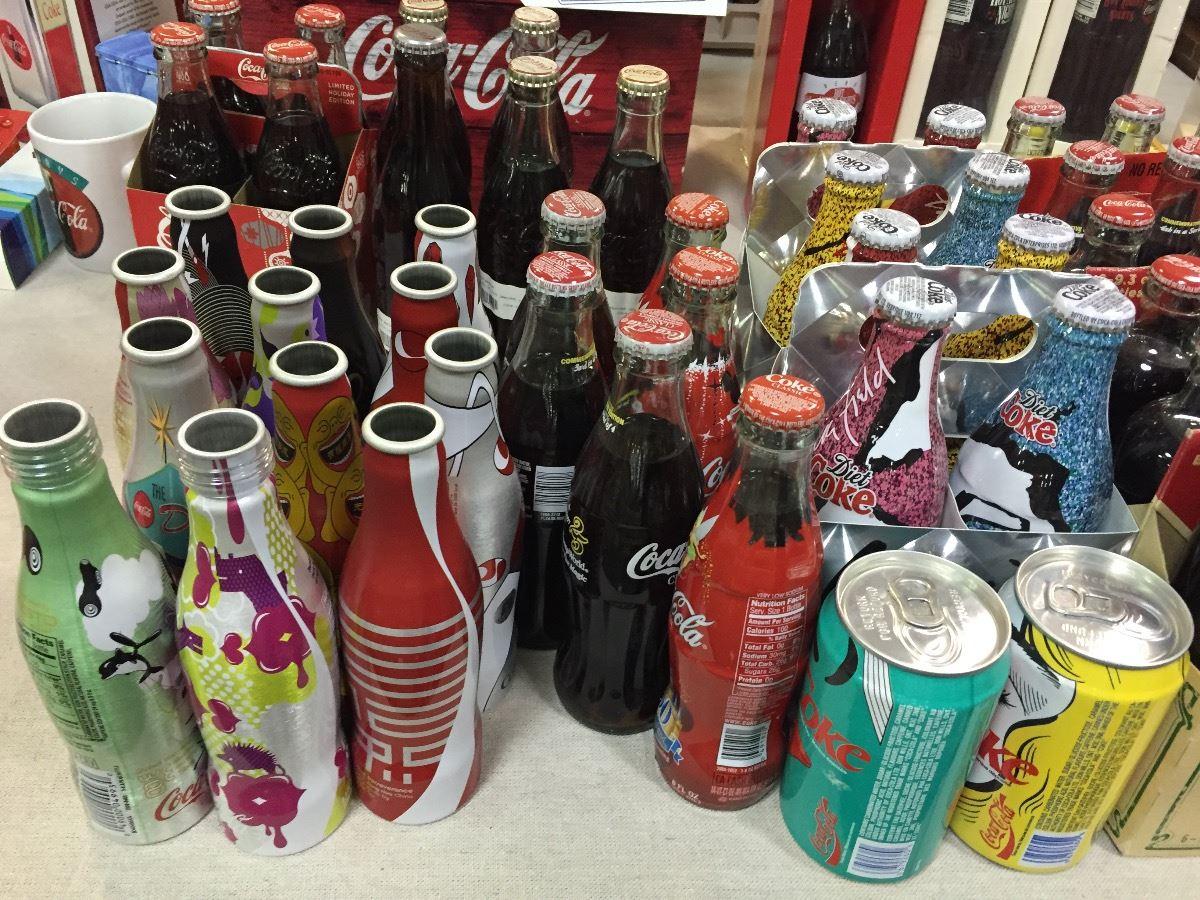 bottles the Coca sex cola city
