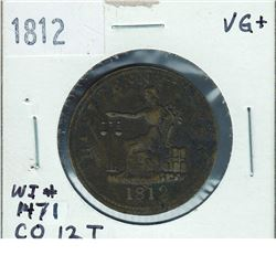 Token 1812 WI # 1471, CO 12T, LC-48B1 - R5, VG+