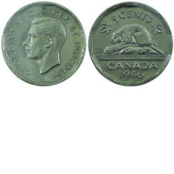 5-cent 1946 6/6 Variety ICCS MS64