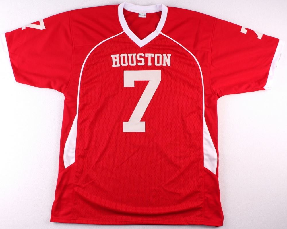 finest selection d718d 3bf56 Case Keenum Signed Texans Jersey (TriStar COA)
