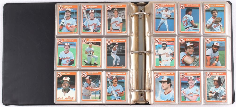 1985 Fleer Complete Set Of 660 Baseball Cards With 286 Kirby