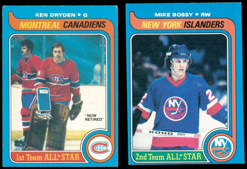 Lot Of 2 1979 80 O Pee Chee Hockey Cards With 230 Mike