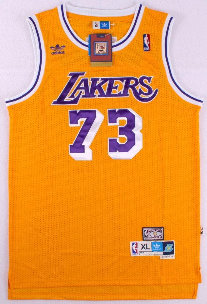sports shoes 2083e ed70f Dennis Rodman Signed Lakers Jersey (PSA COA)