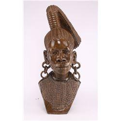 Nicholas Tandi, exquisite African Shona stone bust