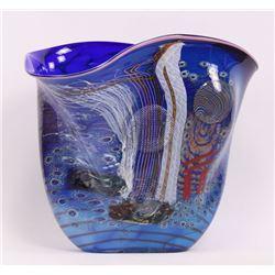 James Nowak (1956), glass sculpture signed by artist.