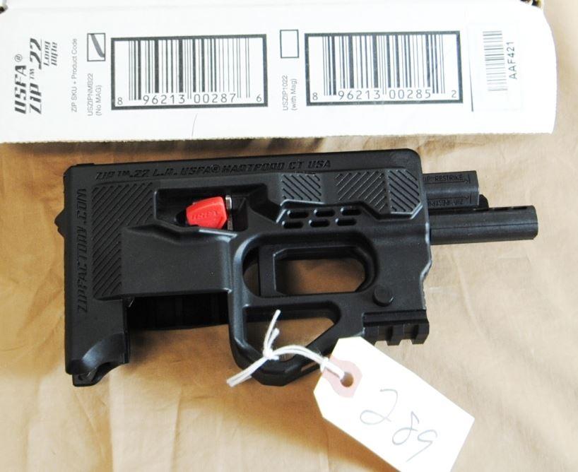 Usfa Zip 22 Lr Pistol