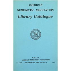 ANA Library Catalogues