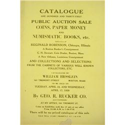 Hesslein's 131st Auction Sale