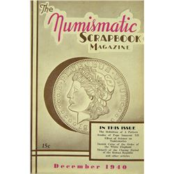 1940 Volume of Numismatic Scrapbook